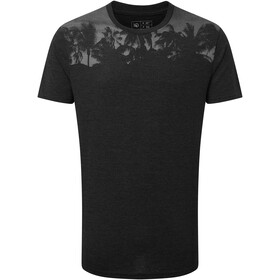 tentree Palm Classic Camiseta Hombre, meteorite black heather